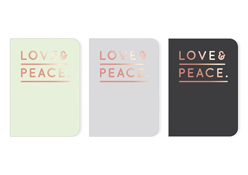 Notebook small | Love & Peace