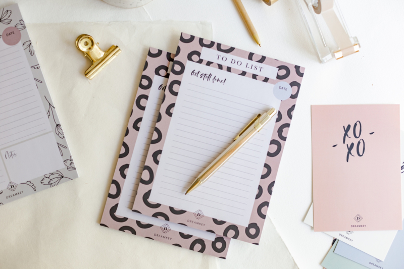 Notitieblok A5 PINK 'Get stuff done'