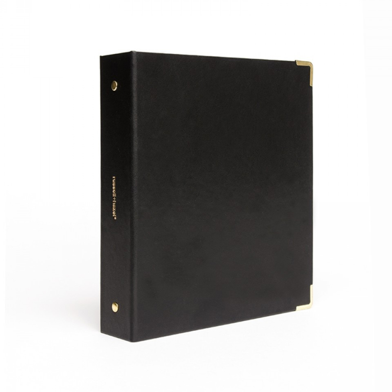Mini binder - Vegan leer zwart