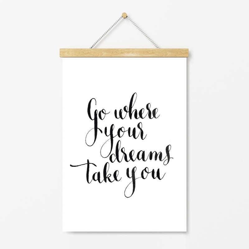 Poster Go where your dreams take you