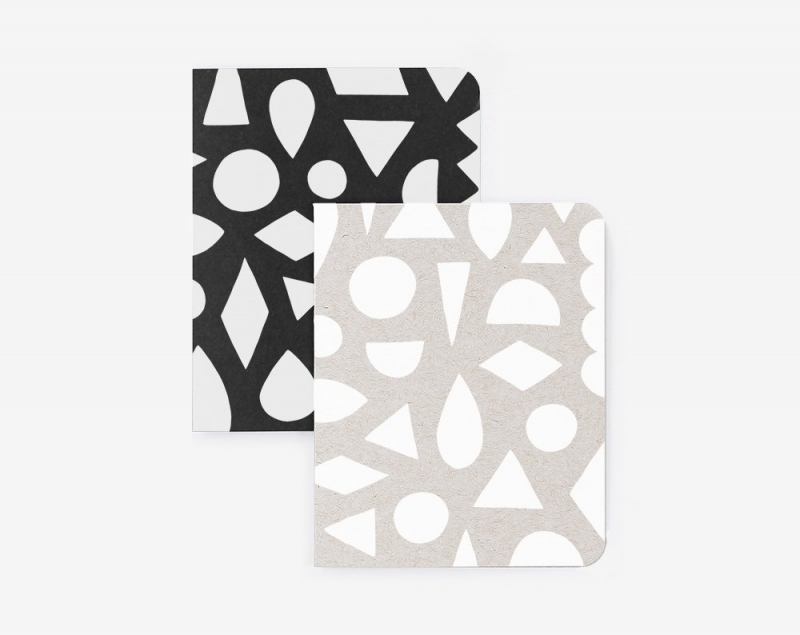 Pocket Journal Set | Modern Shapes