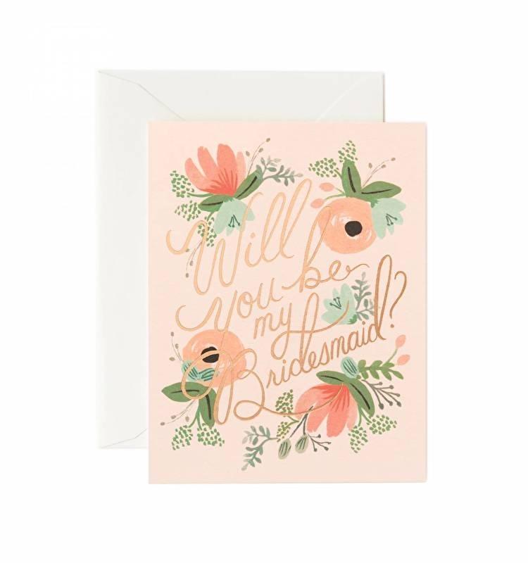 Greeting card | Bridesmaid