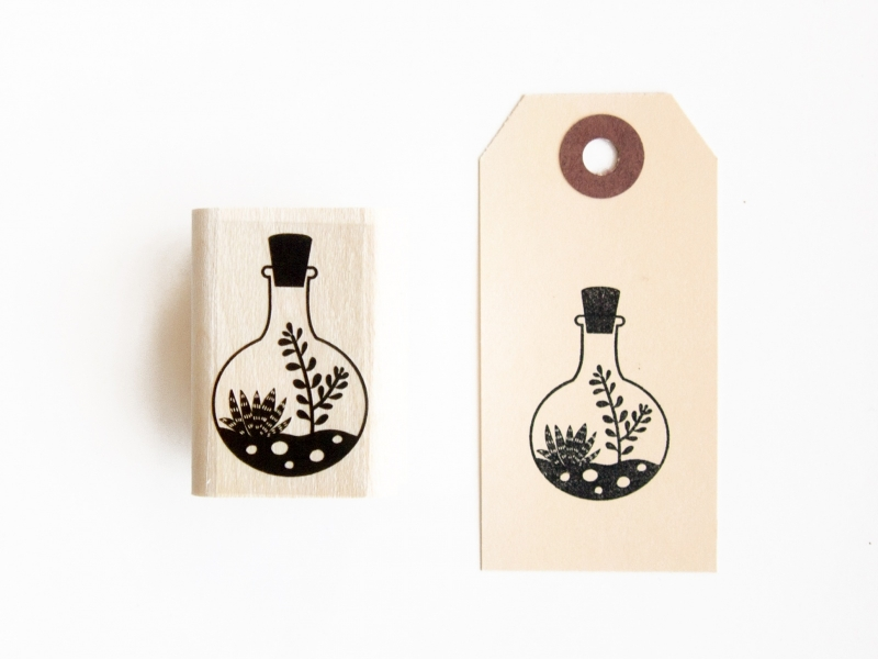 Stamp | Hanging plant cork