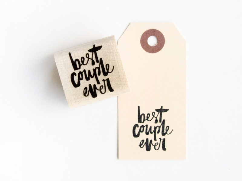Stempel Best couple ever