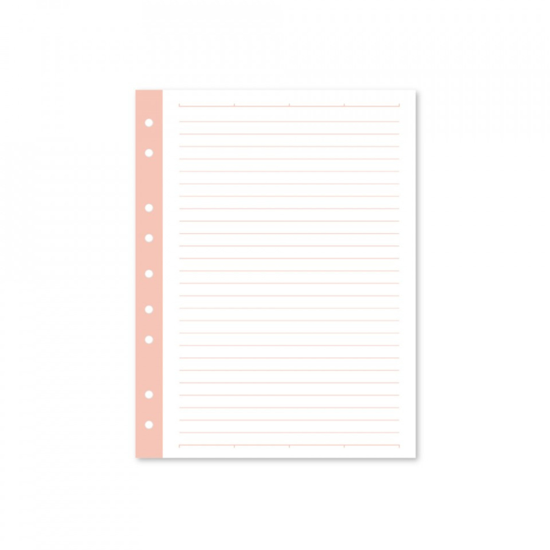 Mini paper filler - blush