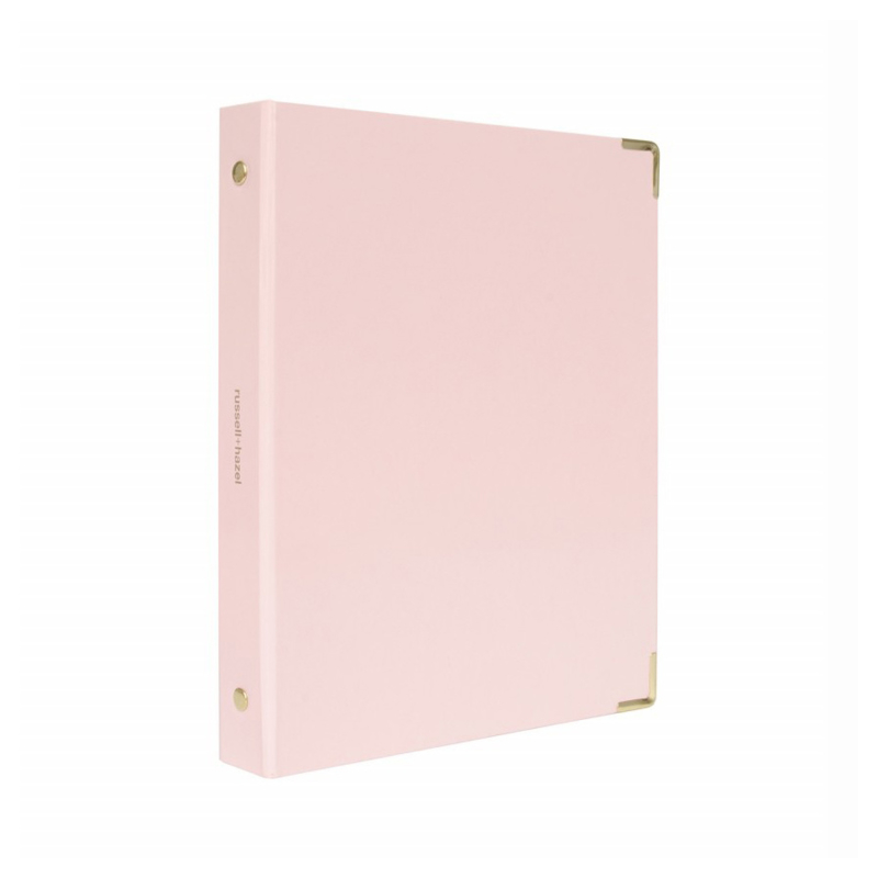 Mini binder | Blush