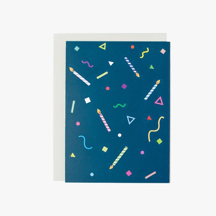 Greeting card | Confetti