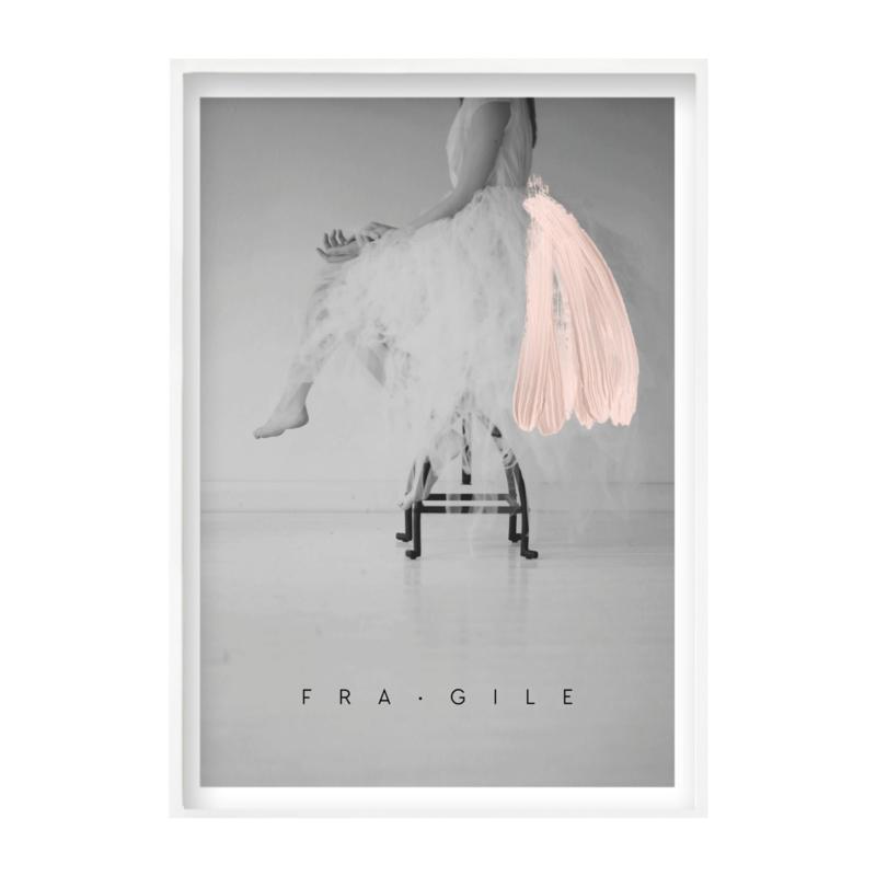 Jo&Judy Print 50x70 - Fragile