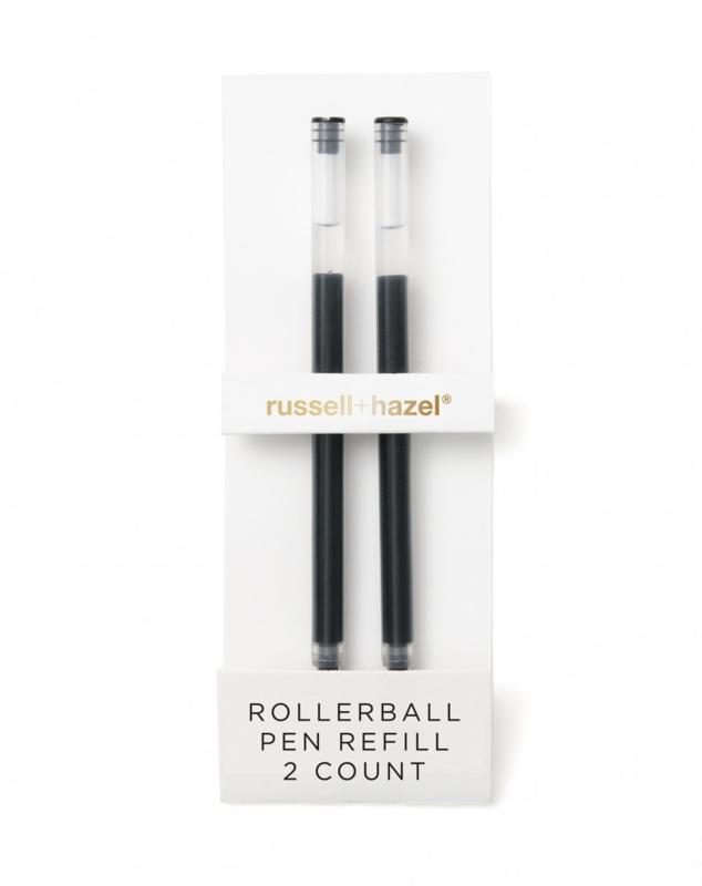 Rollerball pen refill
