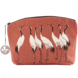 Cranes, orange