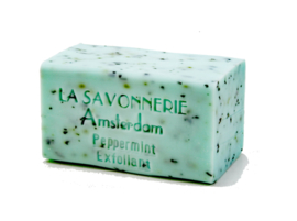 Peppermint, exfoliating soap