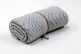 Light Grey, Knitted towel solwang