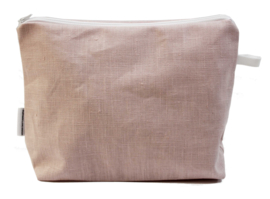 Linen, Light pink, wash bag