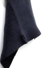 Knitted towel Solwang Design, black