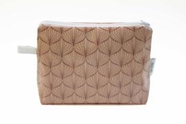 'Lampion' dusty pink, make-up bag NILSEN