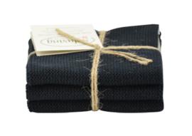 Wash cloth Solwang Design, black