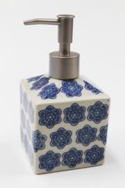 Dispenser blue/white