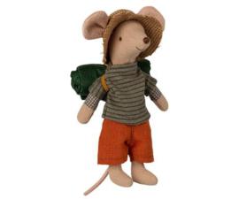 Hiking Mouse boy, Maileg