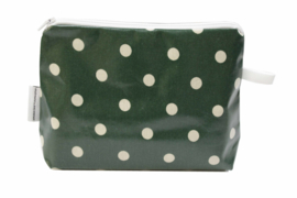 'Green Dot' make up bag