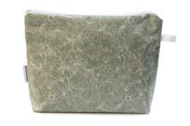 ' Renaissance' green, wash bag