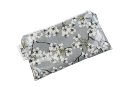 'Blossom' dusty blue cosmetic bag, Nilsen