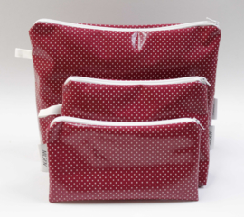 'Cherry Dot', cosmetic bag,  NILSEN