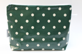 'Green Dot' wash bag