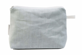 Linen, light blue, bag (M)