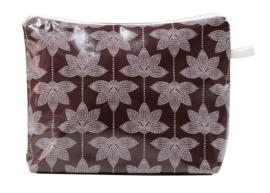 'Lotus' grape wash bag NILSEN