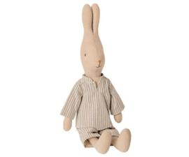 Rabbit boy in pyjamas, Maileg