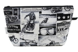 'Motorcycle' wash bag