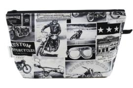 'Motorcycle' wash bag