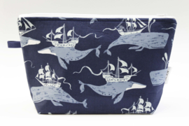 'Fantasy whale' wash bag