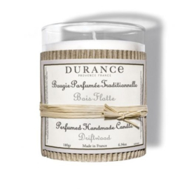 Drifting wood scented candle, handmade by Durance