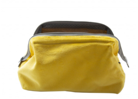 small Velvet Bright Yellow