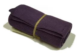 'Dark Purple', knitted towel solwang