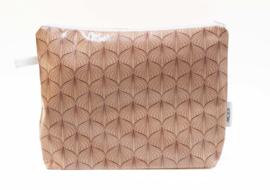 'Lampion' pink powder, wash bag NILSEN