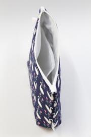 'Swans' wash bag