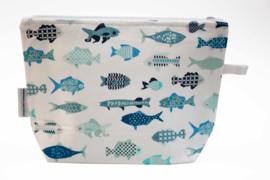 Tiny Fish wash bag, Nilsen