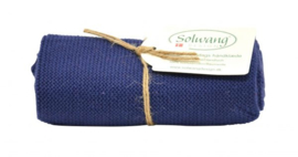 Knitted towel Solwang Design, dark blue