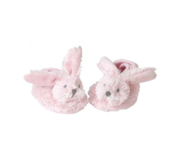 Pink Rabbit baby slippers