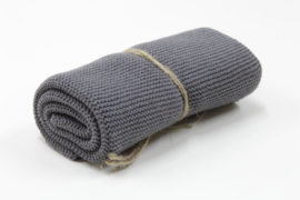 Dark Grey ,Knitted towel solwang