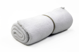 Knitted towel Solwang Design, white