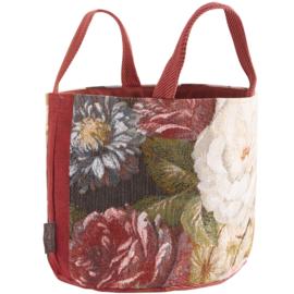 Classical Bouquet large basket red, Art de Lys