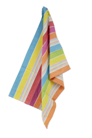 Multi colored tea towel, Solwang Design