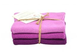 Wash cloth Solwang Design, pink