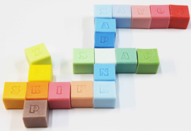 Alphabet soap block