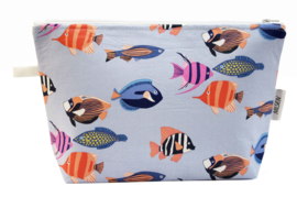 Tropical fish, blue, Nilsen