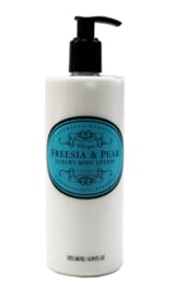 Freesia & Pear  Vegan body lotion, Naturally European