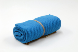 Strong blue, Knitted towel solwang